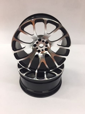 LRC 14 Spoke Aluminum Black Wheels