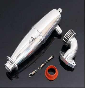 Vision 1/10 Nitro Exhaust Pipe Set V2