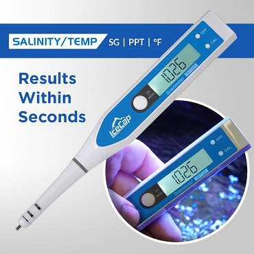 IceCap Salinity/Temperature Digital Pocket Tester