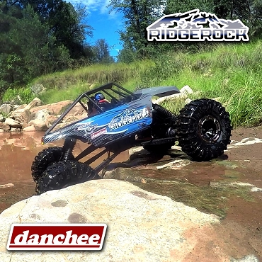 DANCHEE RIDGEROCK - 4WD ELECTRIC ROCK CRAWLER RTR