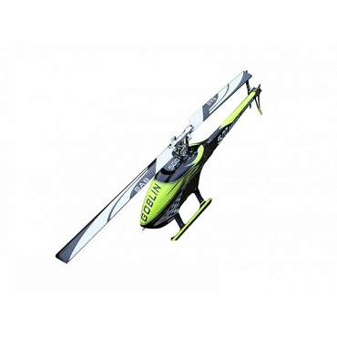 Sab Goblin 500 Helicopter Yellow/Carbon Kit with UPGRADES