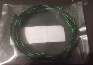 Servo Wrap 3Ft  Black/Green