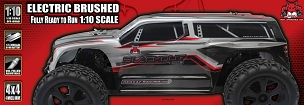 Blackout™ XTE Truck 1/10 Scale Electric Silver SUV
