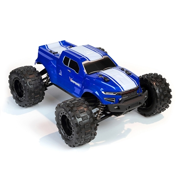VOLCANO-16 1/16 SCALE BRUSHED ELECTRIC MONSTER TRUCK Blue