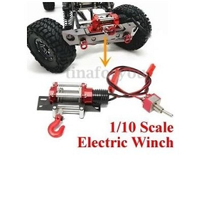1/10 Scale Metal Winch
