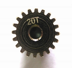 RC Car 20T Pinion Gear 0.6 Modulus
