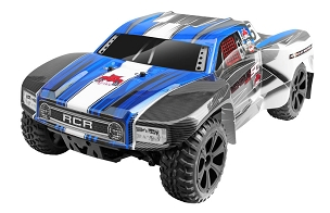 BLACKOUT SC PRO SHORT COURSE TRUCK 1/10 SCALE BRUSHLESS ELECTRIC - Blue