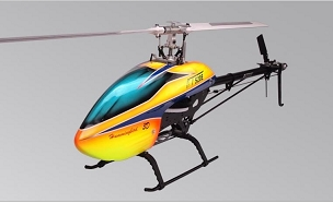 DT 520E V2 FBL Helicopter Kit With Main Blades And Motor