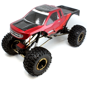 EVEREST-10 1/10 SCALE CRAWLER RTR - Red