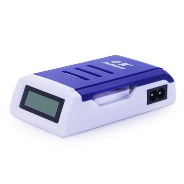LCD Smart Rapid Charger for AA or AAA Ni-MH/Ni-CD Rechargeable Battery