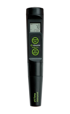 Milwaukee PH55 PRO Waterproof pH & Temperature Tester with Replaceable Probe