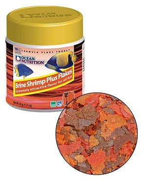 Ocean Nutrition Brine Shrimp Plus Flake 1.2 oz.