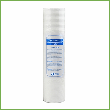 PP Sediment filter 1 Micron 10 Inch