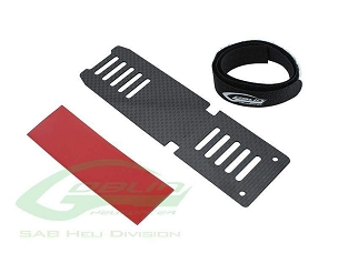 SAB Carbon Fiber Battery Tray for Goblin 380