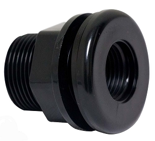 Standard Threaded Bulkhead Fitting - 1/2 inch