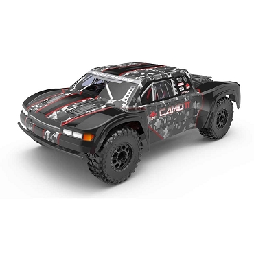 CAMO TT PRO 1/10 SCALE ELECTRIC TROPHY TRUCK - Camo Red