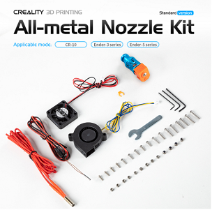 Creality Full Metal Nozzle Kit (Standard Edition)