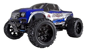 VOLCANO EPX 1/10 SCALE ELECTRIC MONSTER TRUCK - Blue