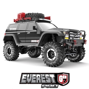 EVEREST GEN7 PRO 1/10 SCALE RTR - Black